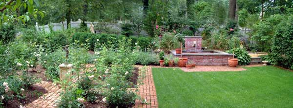 English Garden Design In New Jersey