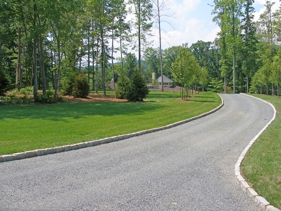 tar and chip driveway design