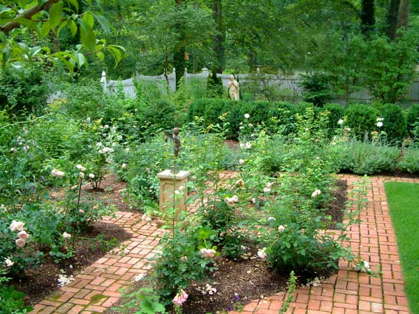 English garden design in new jersey for Formal landscape design