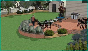 Virginia Landscape Patio Designs